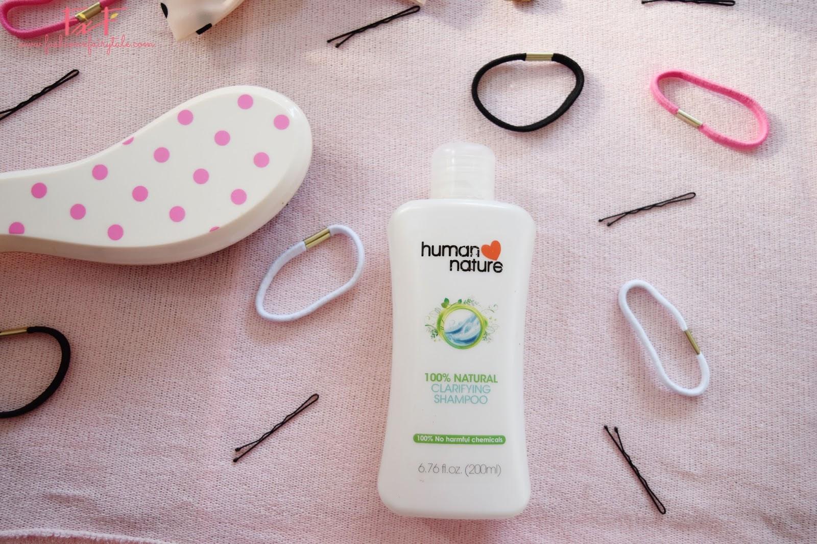 Human Nature Clarifying Shampoo | Review