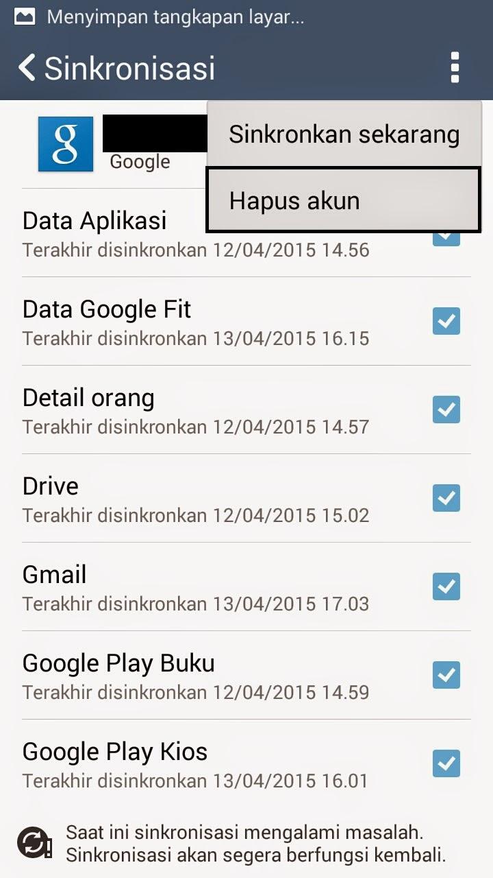 Cara Mengganti Akun / E-mail Google Play Store di Android