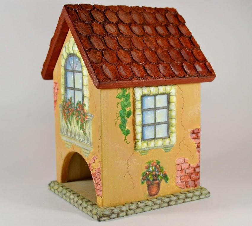 Красивый чайный домик своими руками 78