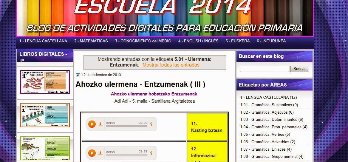 Escuela 2014