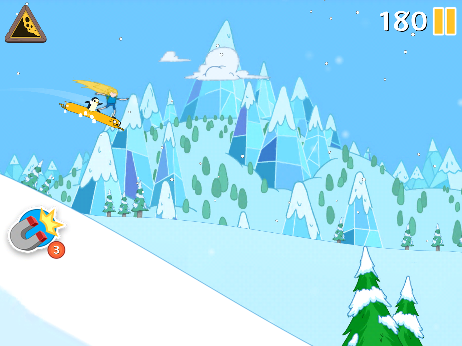Ski Safari Adventure Time para tu ios o android.jpg
