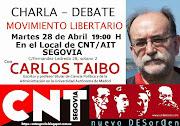 CHARLA - DEBATE: MOVIMIENTO LIBERTARIO. Con Carlos Taibo.