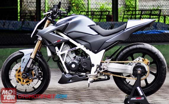 Modifikasi Honda CBR 150R Fi Street Fighter