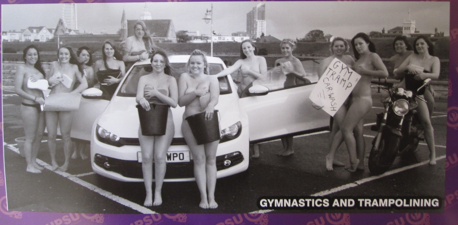 University of Portsmouth nude charity calender faces