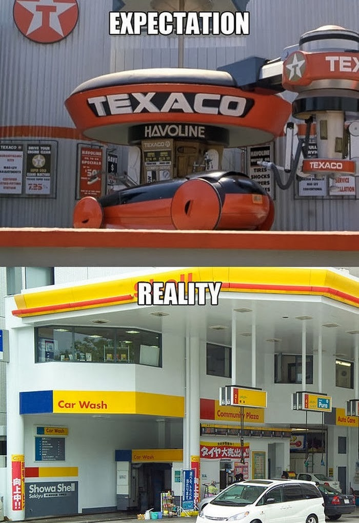 Back to the Future Expectations Vs Reality (13 Pics), movie facts, expectations vs reality pics