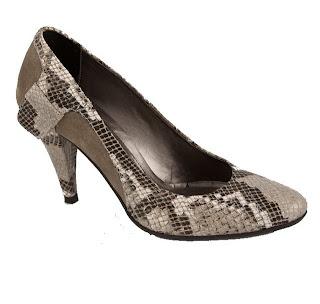 Pantofi de Lux - TocToc Incaltaminte - Pantofi Snake din Piele