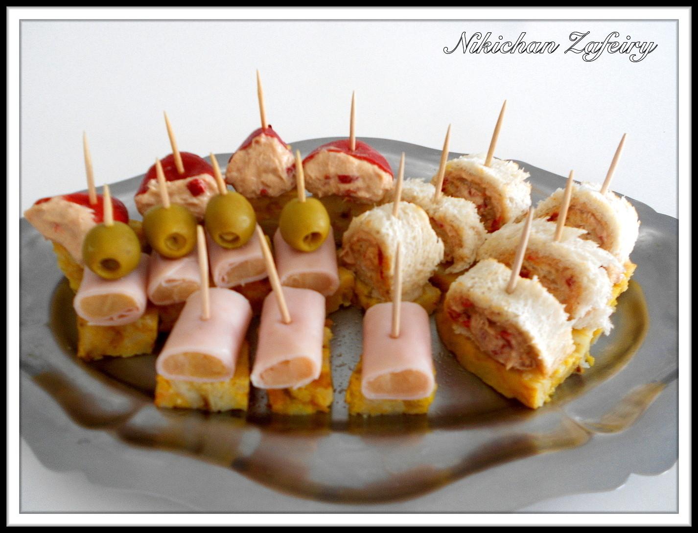 Barbacoa completa con aperitivos recetas de una gatita - Platos originales y sencillos ...