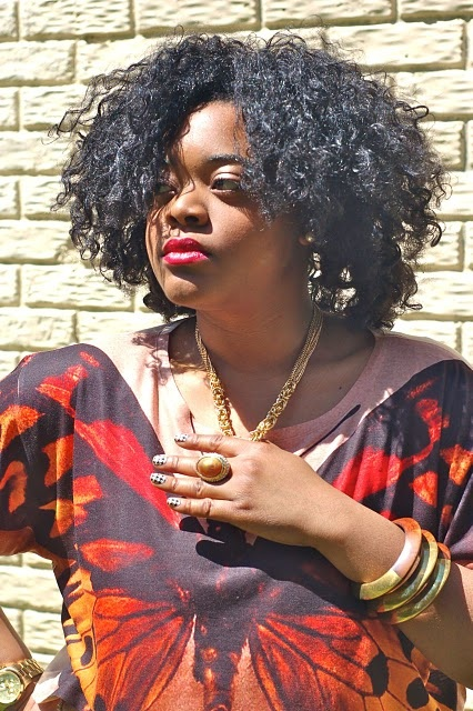 Natural Hair Crush of the Week:Christina of LoveBrownSugar.com!