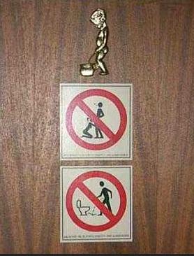 najsmesniji znakovi: sta je sve zabranjeno u toalet