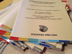 Ediciones Orillera, próximamente en ...