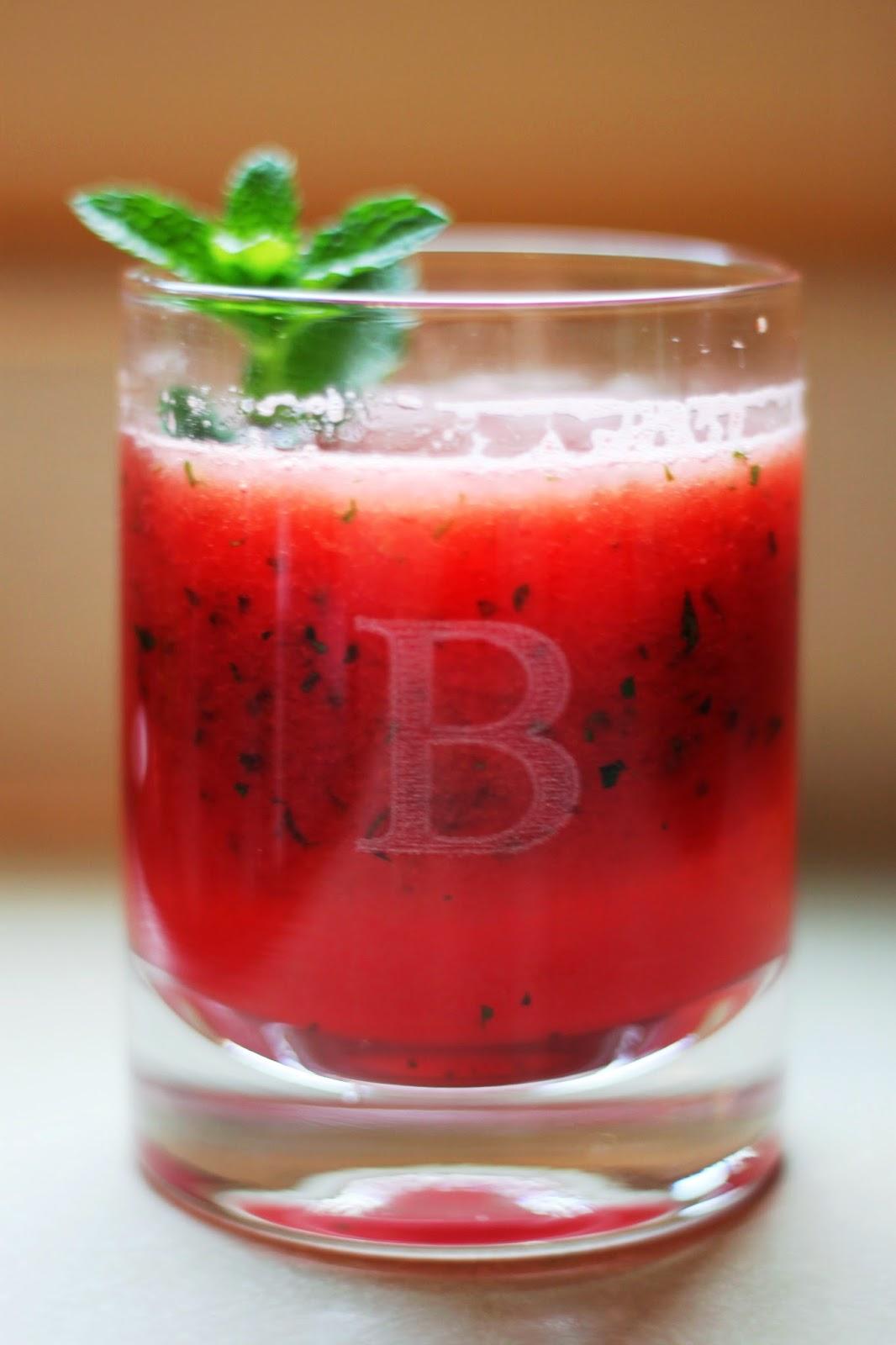 Summertime Watermelon Mojitos
