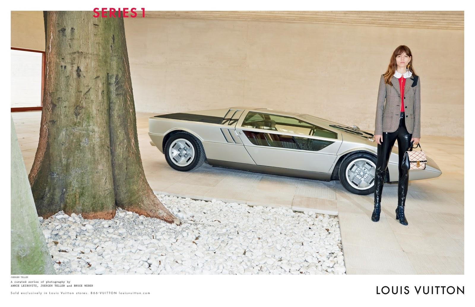 Louis Vuitton Fall 2014 Campaign   Maserati Boomerang