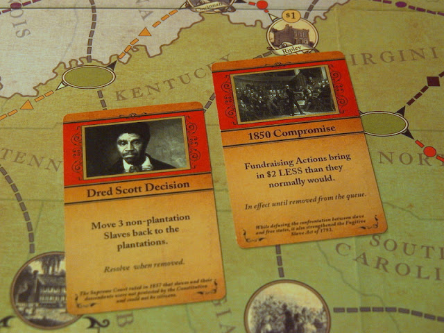 Freedom The Underground Railroad Board Game cards