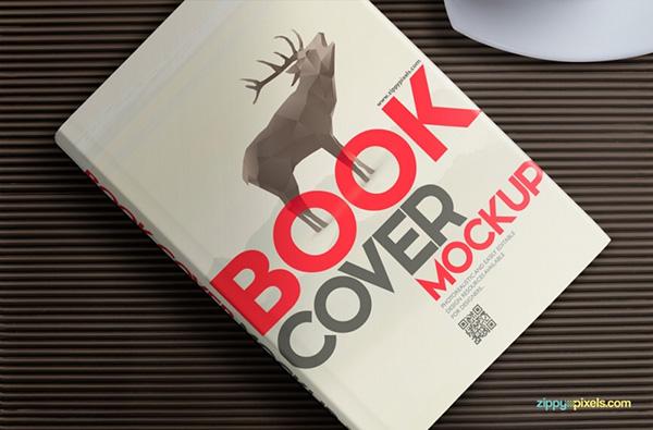Download Gratis Mockup Majalah, Brosur, Buku, Cover - Free Hardcover Book Mockup