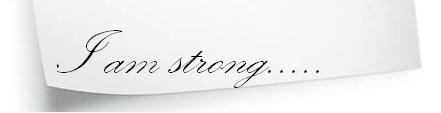 I Am Strong After All