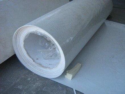Lamina de fibra de vidrio para ductos