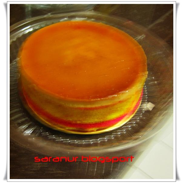 kek karemel for order RM 30