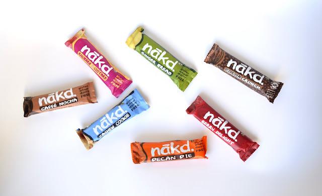 nakd bars, gluten free, wheat free, dairy free