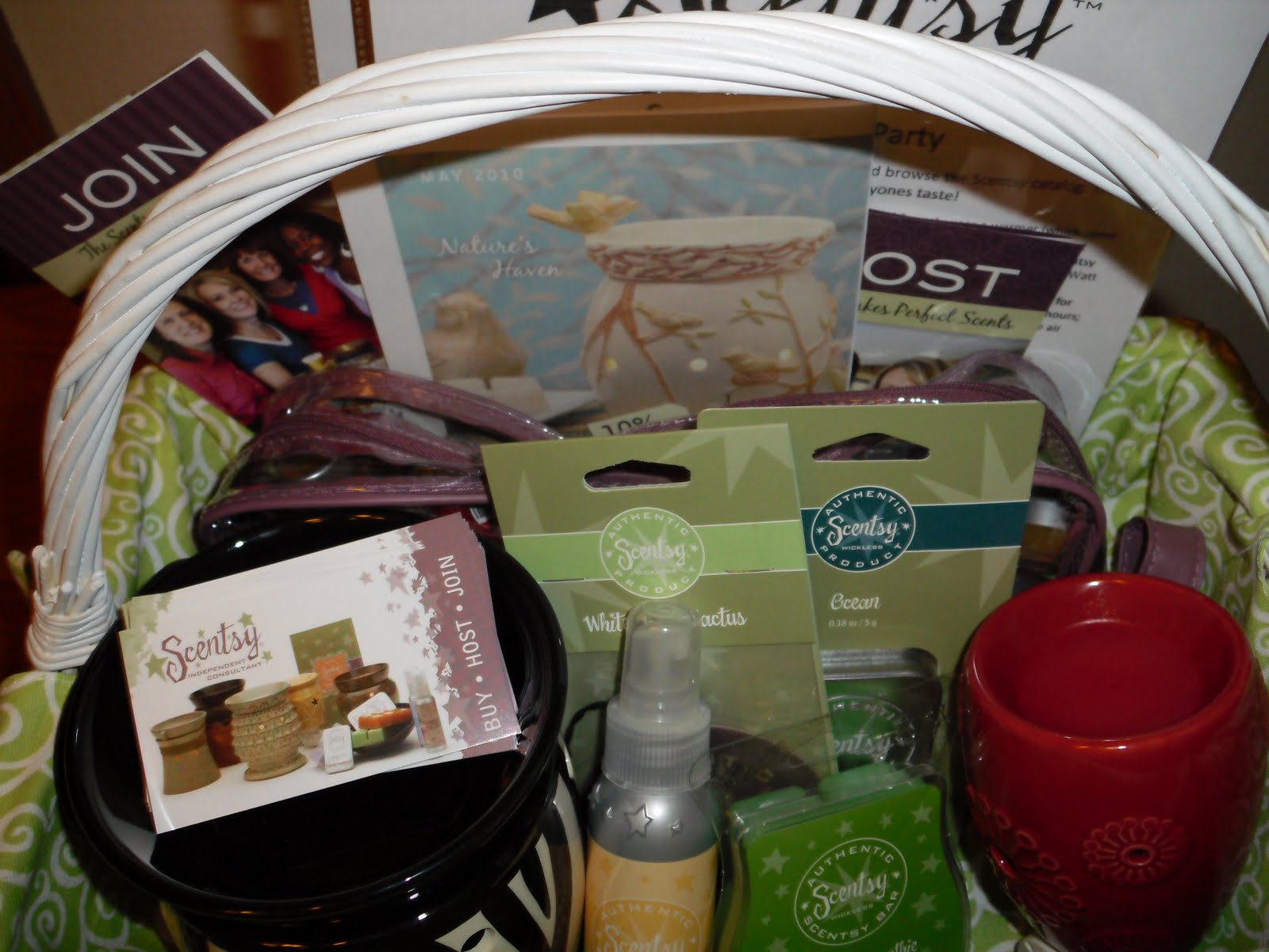 how to create a scentsy party online