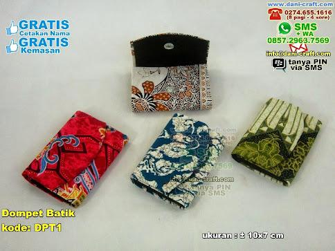 Dompet Batik Karton Kain Batik