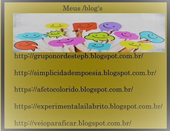 Conheça  Meus /blog's ativos