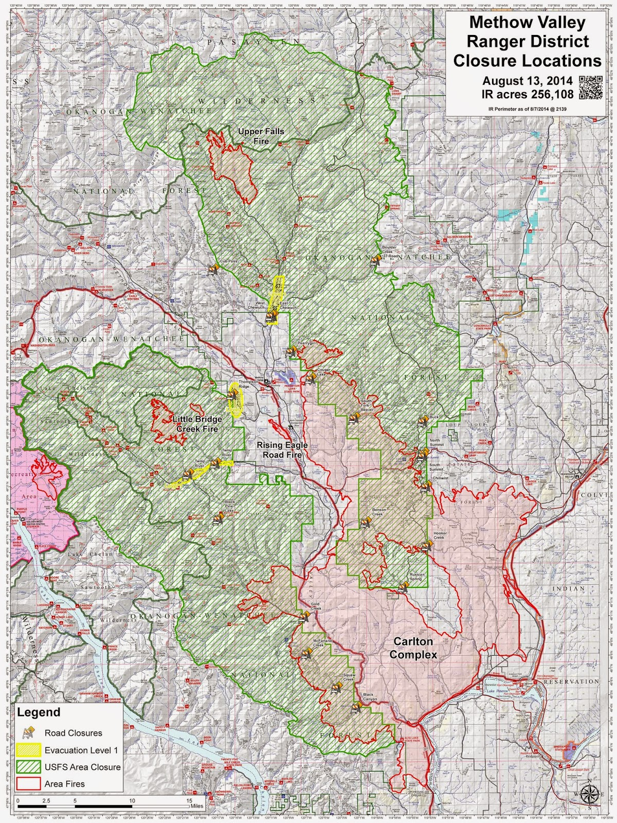 for specific information on okanogan wenatchee national forest wildfire area closures see link information http www fs usda gov detail okawen home cid