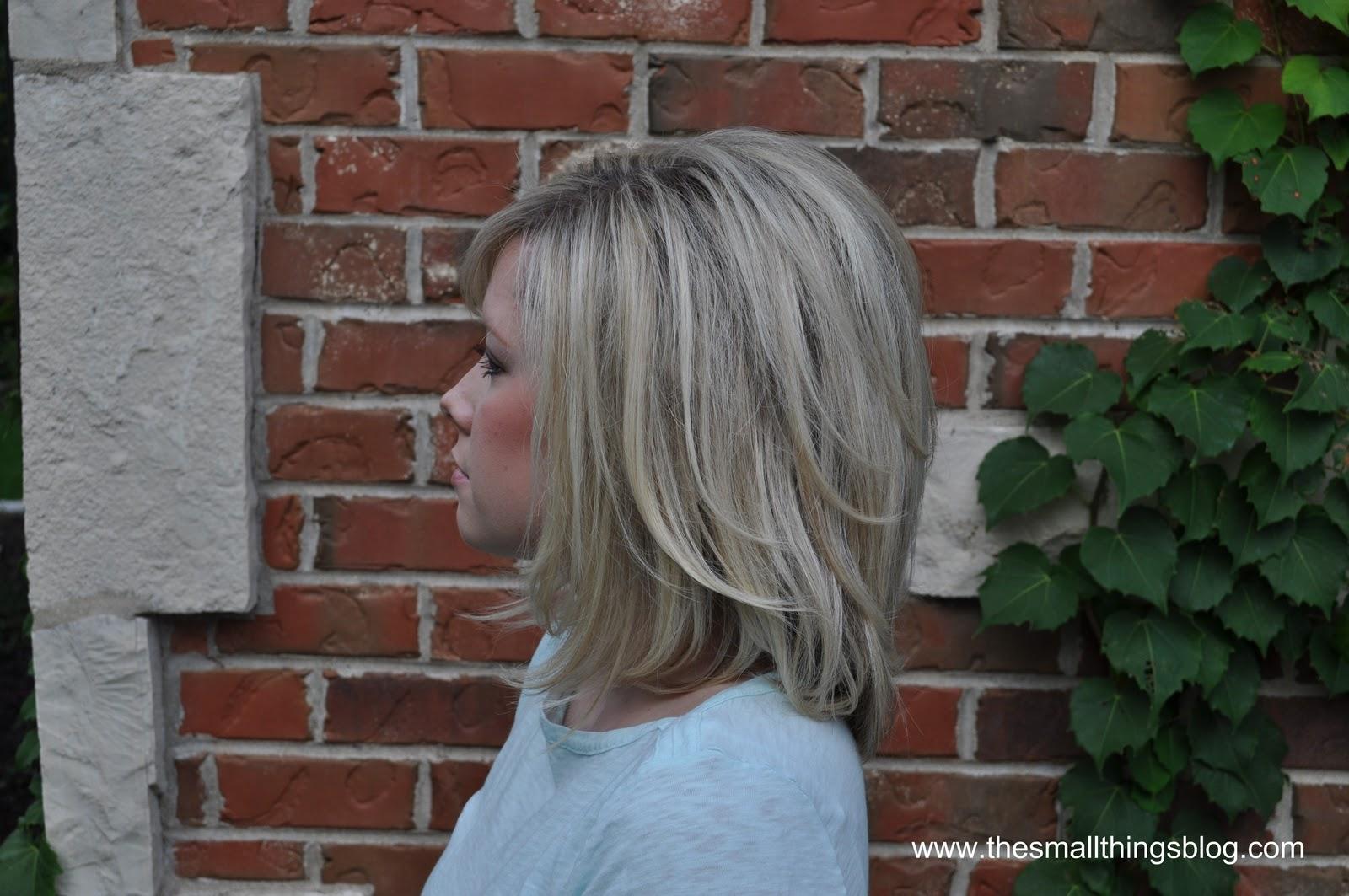 My Haircut  The Small Things Blog