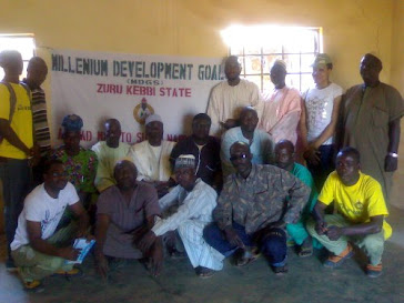 My CDS team in Kebbi State making impact