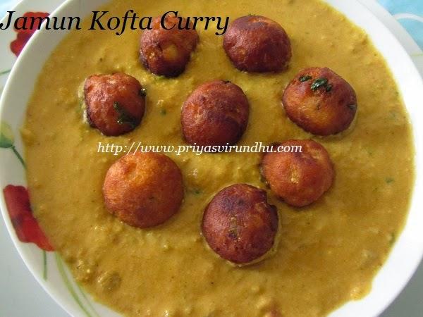 jamun kofta curry