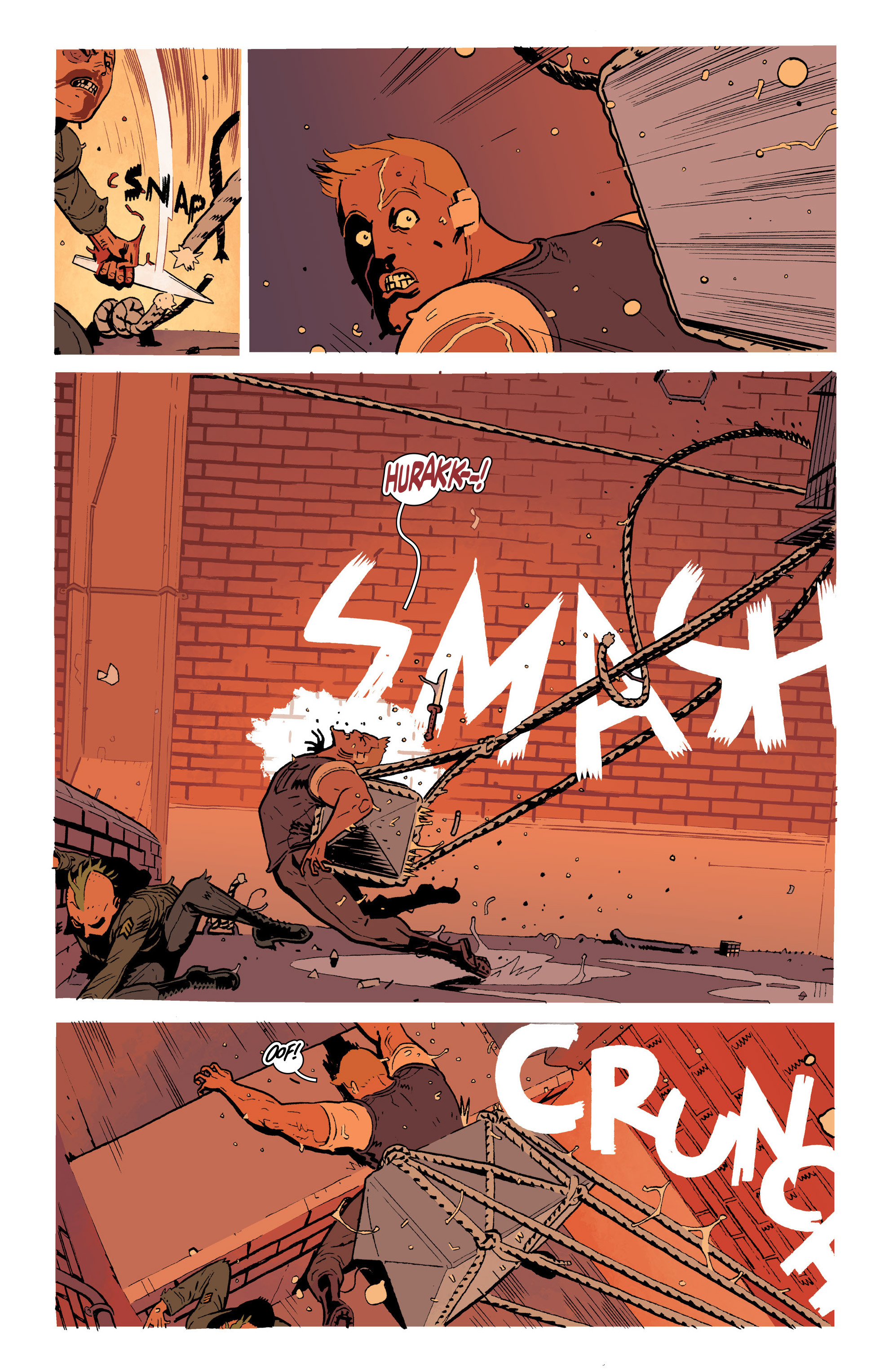 Read online Deadly Class comic -  Issue #19 - 16