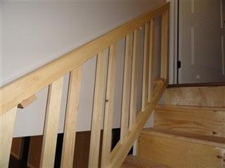 Leonard Vandenberg Construction Removable Stair Rail W