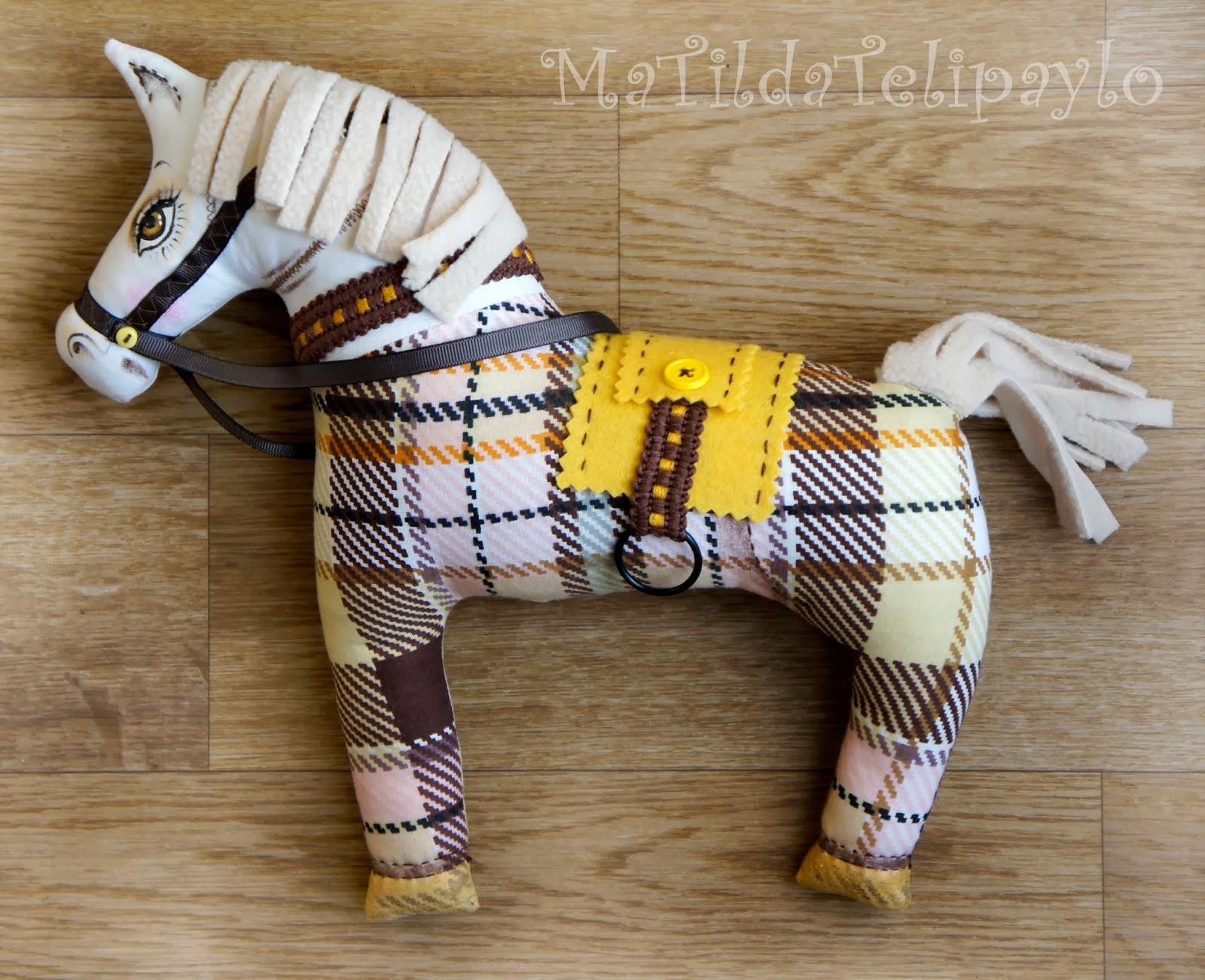 Лошадка своими руками не из ткани