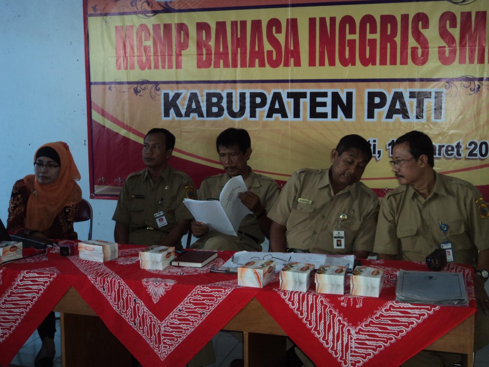 Bedah Skl Bahasa Inggris Smp Kabupaten Pati Smp Negeri 1 Kayen
