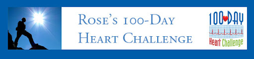 Rose's 100-Day Heart Challenge