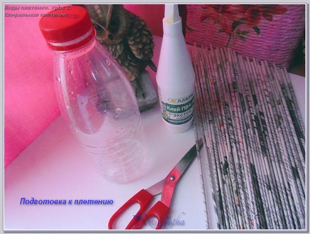 материалы для спирального плетения