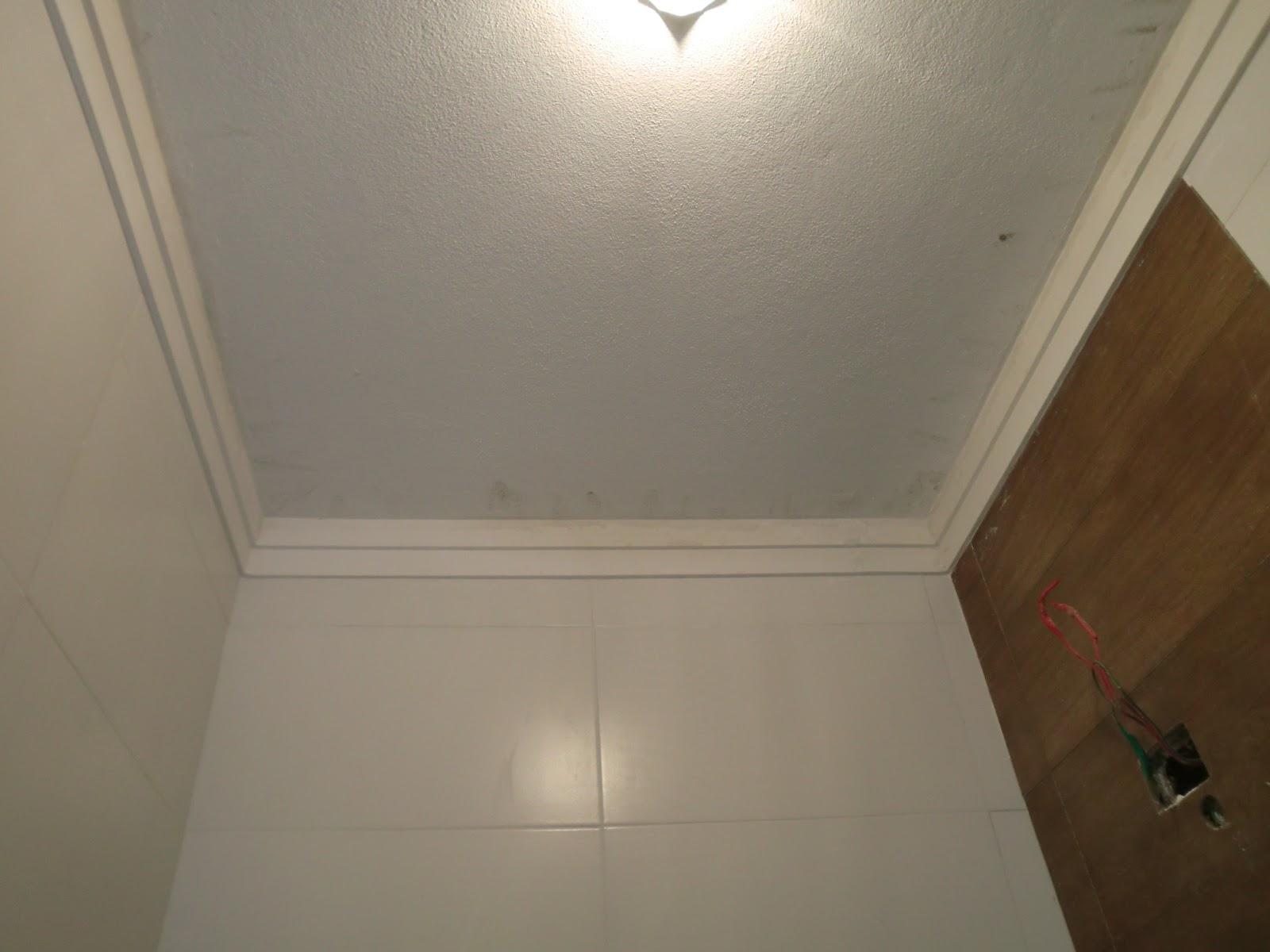 Imagens de #46301C Como esta ficando a reforma do banheiro pequeno Nicho com pastilhas  1600x1200 px 3604 Banheiros Super Simples