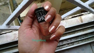REVIEW: Maybelline ColorShow nailpolish in 001 Cinderella Pink image