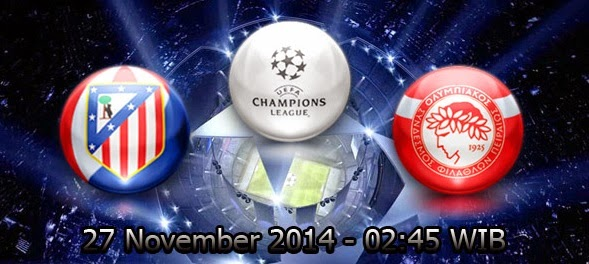 Atletico Madrid Vs Olympiakos