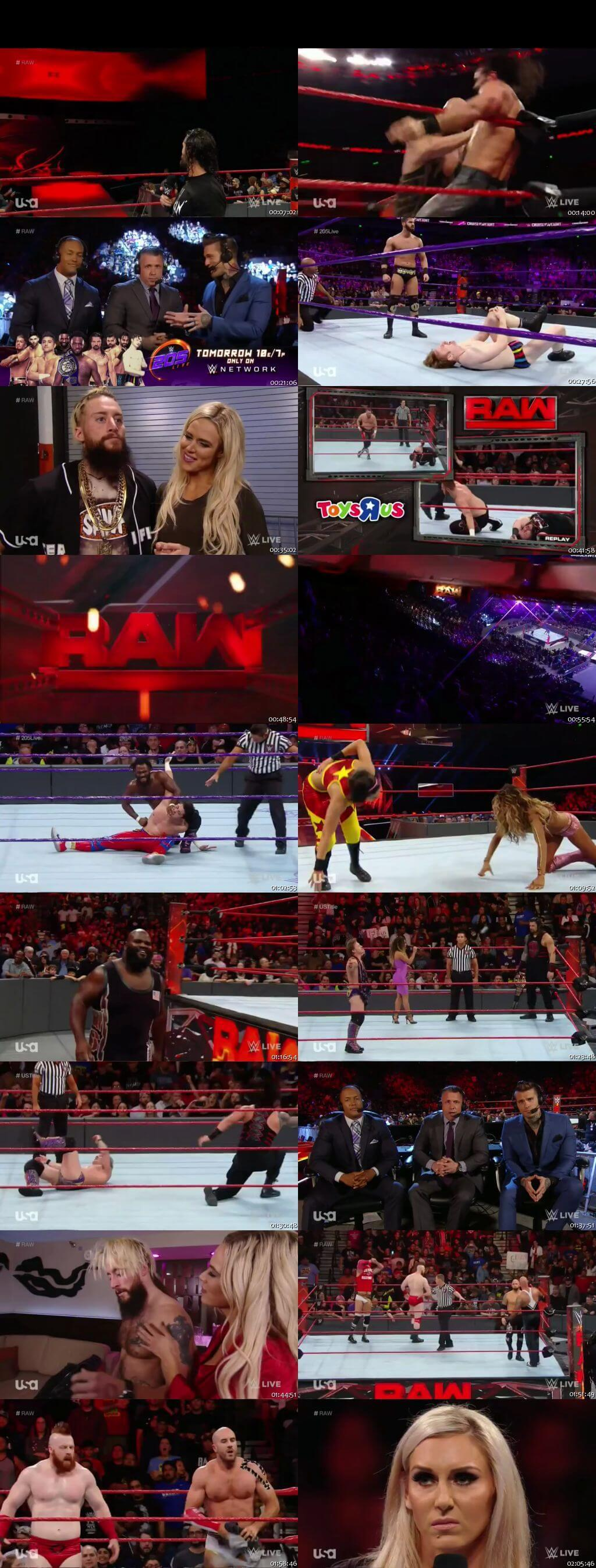 Screen Shot Of WWE Monday Night Raw 5th December 2016 HDTV 480P 375MB