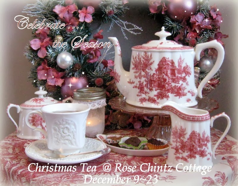 Please join me for a Christmas Tea