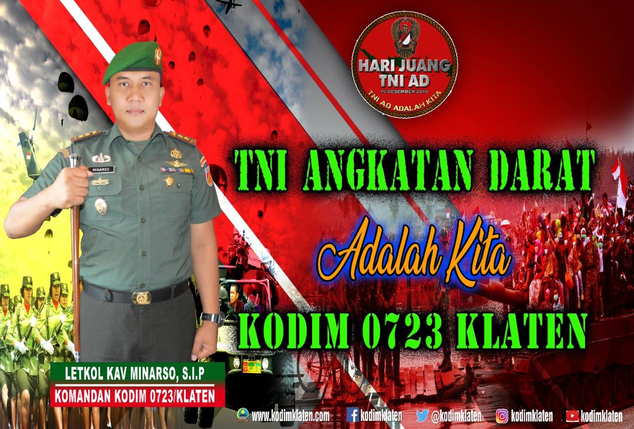 HARI JUANG TNI AD 2019