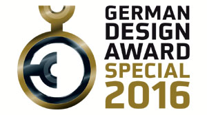 MDL expo International gewinnt den German Design Award 2016.