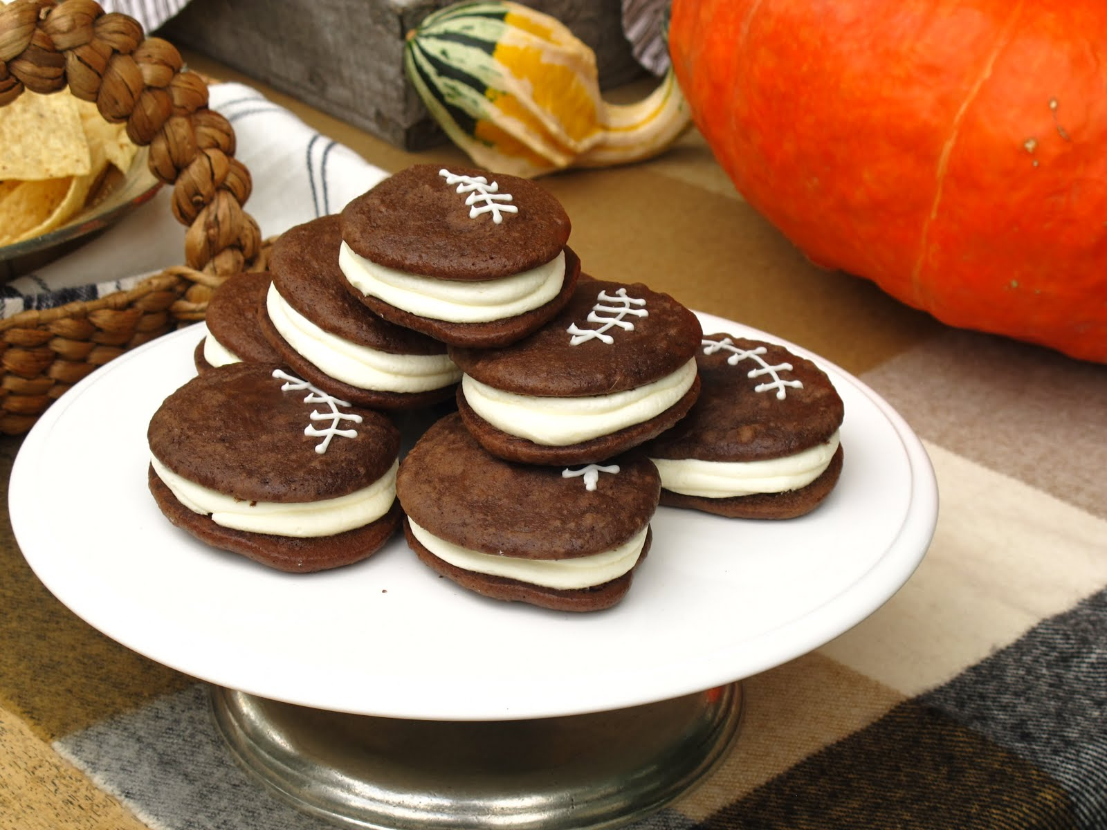 Jenny Steffens Hobick Football Whoopie Pies Game Day