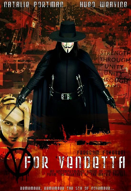 V For Vendetta (2005) BluRay 720p Full Movies + Subtitle Indonesia