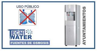 alquiler o comprar fuentes de osmosis inversa para ayuntamientos e instituciones
