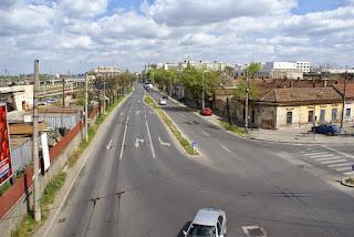 Pasarela Gara de Nord din Timisoara