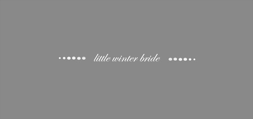 little winter bride