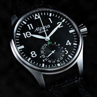 Montre Alpina Aviation Startimer Pilote pour horlogerie-suisse.com
