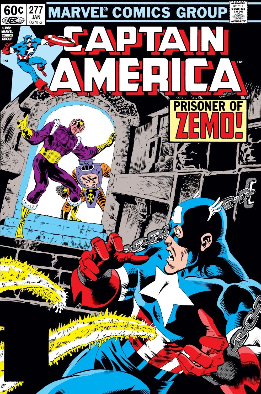 Captain America (1968) Issue #277 #193 - English 1