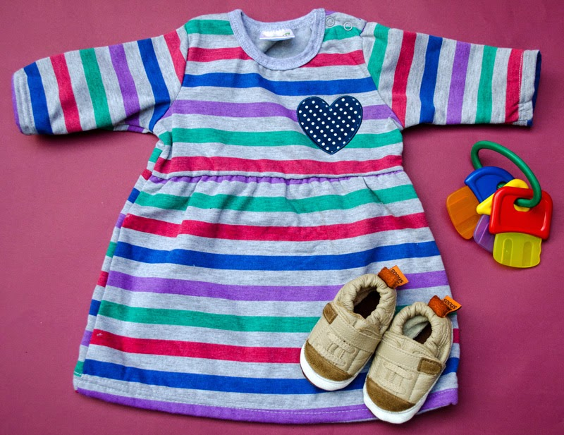 baby fashion flat lay